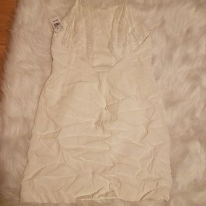 Super cute white dress size small nwt